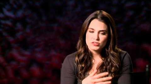"The Twilight Saga Breaking Dawn - Part 1 Interview With Nikki Reed - ""Rosalie Hale"""