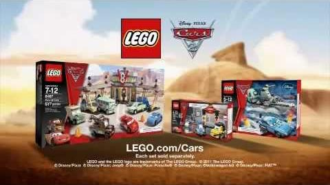 LEGO Cars 2 Commercial (2011)