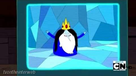 "Adventure Time - Holly Jolly Secrets - Ice King Sings ""Daddy, Why Did You Eat My Fries"""
