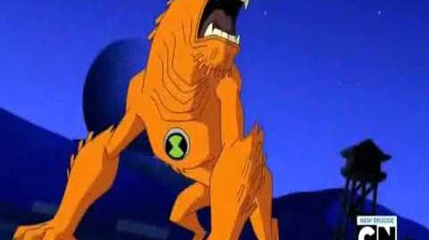 Ben 10 Ultimate Alien- Wildmutt Transformation
