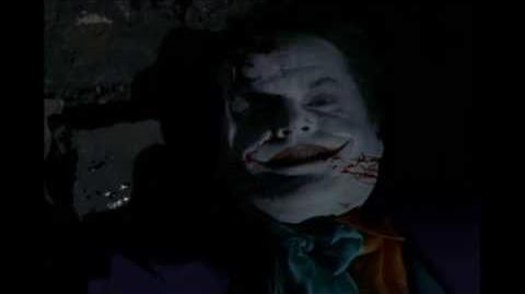 Jack Nicholson Joker's Last Laugh