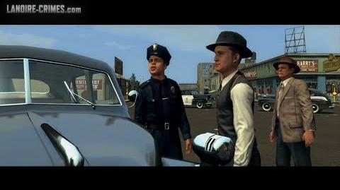 Bus Stop Shooting - Street Crime - L.A. Noire