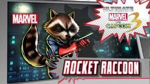 Rocket Raccoon Character Vignette - Ultimate Marvel vs