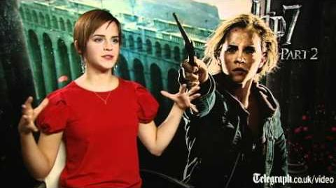 Harry Potter and the Deathly hallows part 2 star Emma Watson on Hermione and Ron Weasley's big kiss