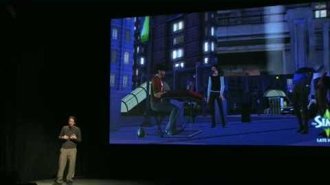 EA Studio Showcase 2010 - The Sims 3 Late Night