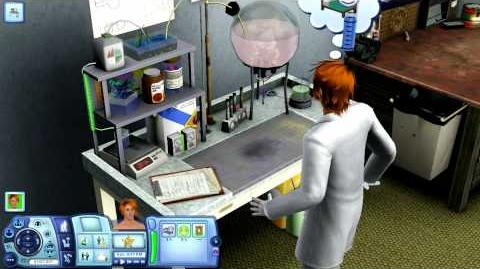 The Sims 3 Generations - NEW! Chemistry Set - Discovering Potions! (Logic Skill)