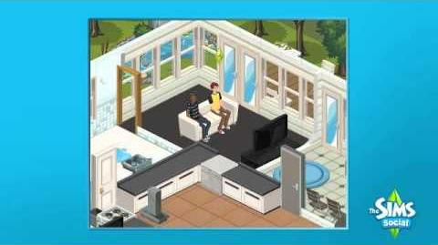 The Sims Social Launch Trailer
