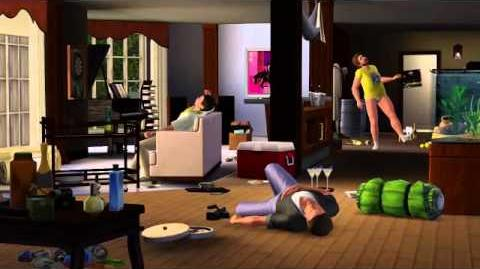 The wolfpack is back -- a parody from The Sims 3