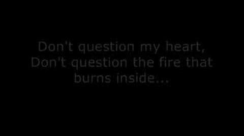 ECW Theme Don't Question My Heart Lyrics