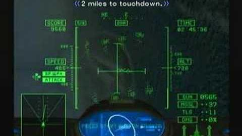 Ace Combat 5 Falken TLS Fired During Landing
