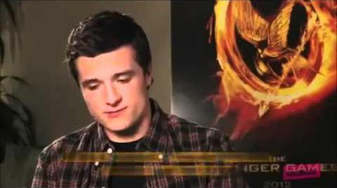 Josh Hutcherson Interview for 100 Days of Hunger Games