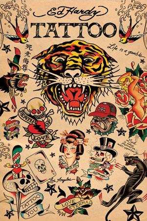Ed Hardy Tattoo Art