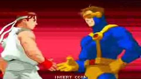 X-Men vs Street Fighter Arcade Intro