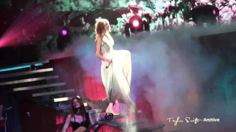 Taylor Swift - Enchanted - Speak Now Tour 2011