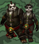Pandarens playable