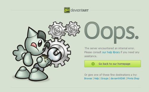 500 internal server error:
