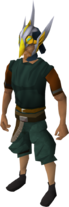 Armadyl helmet (e) equipped