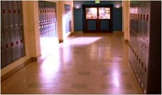 Sunnydale high hall