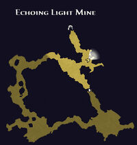 Echoing light mine map