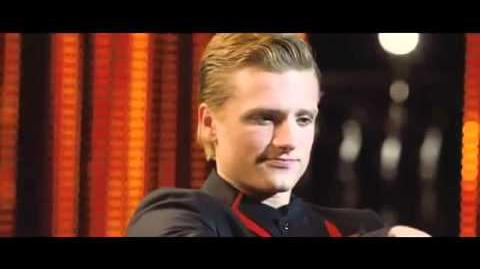 The Hunger Games Clip - Peeta's Interview With Caesar Flickerman