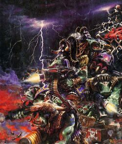 Ork Freebooterz in action