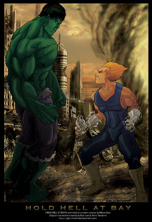 Hulk vs Vegeta