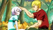 Laxus and Lisanna