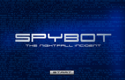 Spybotics NI Starting Screen