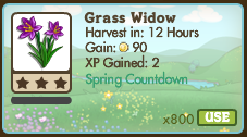 Grass Widow Market Info
