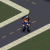 Policeman Walking