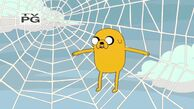S4e3 jake in a web