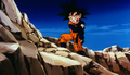 Kid goten broken arm