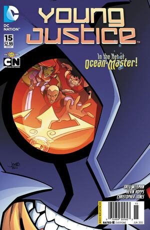 Cover for Young Justice #15