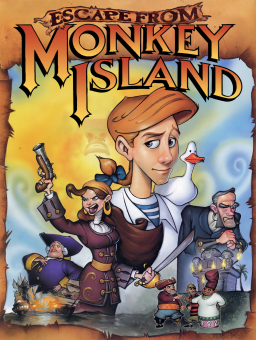 Escape from Monkey Island artwork