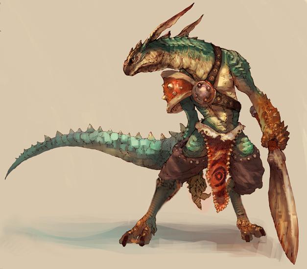 Lizalfos - Zelda Fanon WikiLizardfolk In Armor