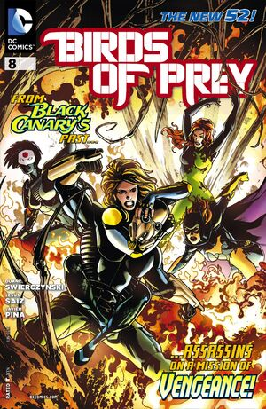 Cover for Birds of Prey #8