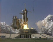Columbia launch, 1992