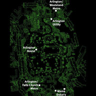 Arlington Cemetery map
