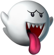 Boo Artwork - Mario Party 7