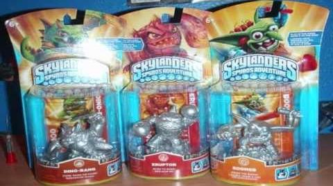 New Skylanders Concept Art and Prototype Figures!