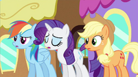 Rarity bring out strange S2E25