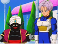 Mr popo and future trunks