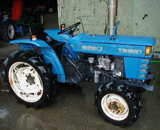 Iseki Ts1910 - Tractor  U0026 Construction Plant Wiki