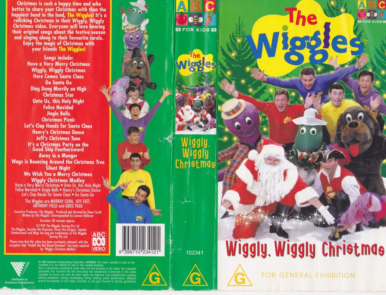 Wiggly  Wiggly Christmas  re-release  - WikiWigglesThe Wiggles Wiggly Wiggly World Vhs