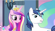 Princess Cadance &amp; Shining Armor notice missing S2E25