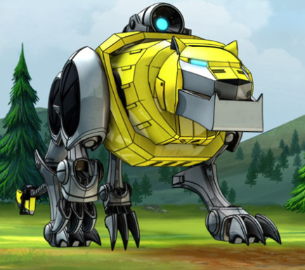 Yellow Lion pngVoltron Yellow Lion