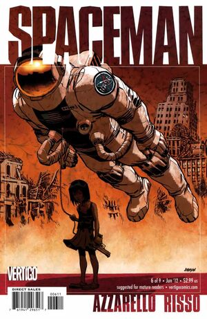 Cover for Spaceman #6