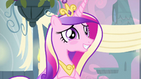 Princess Cadance blushing S2E25