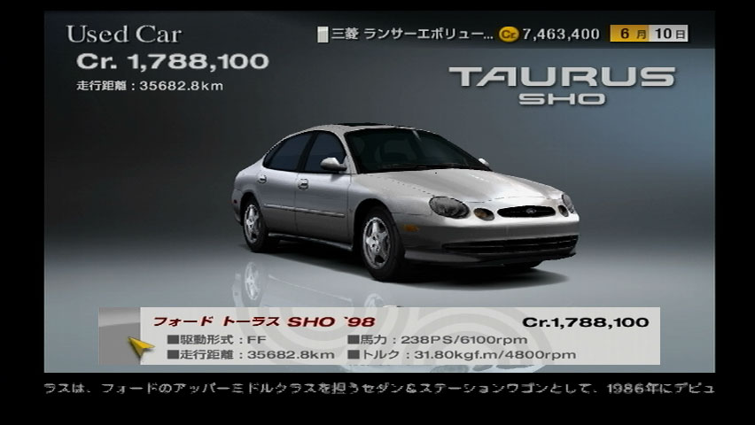 Haven T Played This Video Game Yet But Taurus Car