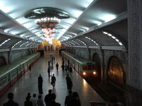 Pyongyang Metro